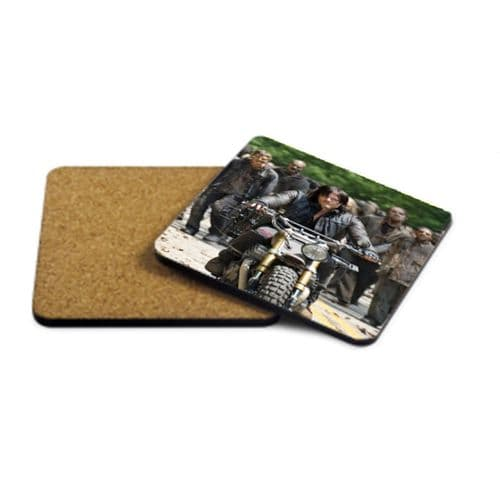 Daryl Dixon, The Walking Dead MDF Strong Coaster 9cm X 9cm