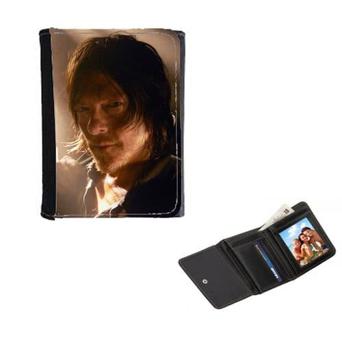 Daryl Dixon, Walking Dead Theme Mens, Ladies, Girls Wallet or Purse 12cm x 9cm