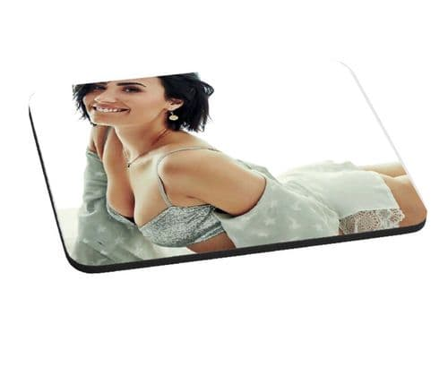 Demi Lovato 5mm Thick, 220mm x 180mm Mouse Mat Pad
