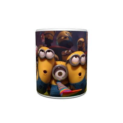 Despicable Me 2 Minion Party Mug, Birthday, Christmas, Special Gift, Size 11oz