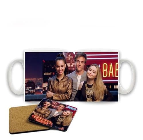 Disney Channel Adventures in Babysitting 11oz Large Handle Mug With Free Coaster