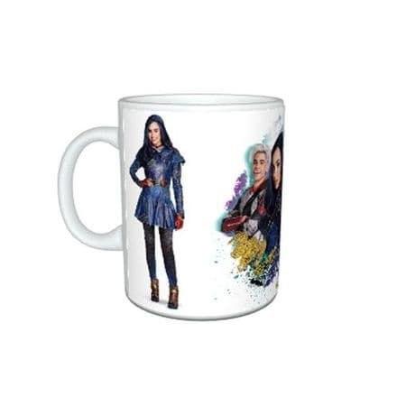 Disney Descendants 2, Large Handle, 11oz Mug, Birthday, Christmas Special Gift.