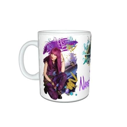 Disney Descendants 2, Personalised Name, 11oz Mug, Birthday, Christmas Gift.
