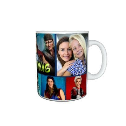 Disney Descendants 2. Personalised Photo & Name 11oz Large Handle Photo Mug