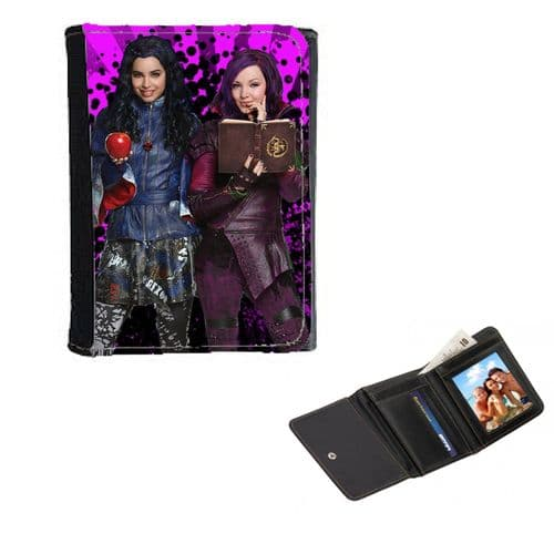 Disney Descendants Theme Mens, Ladies, Girls Wallet or Purse 12cm x 9cm