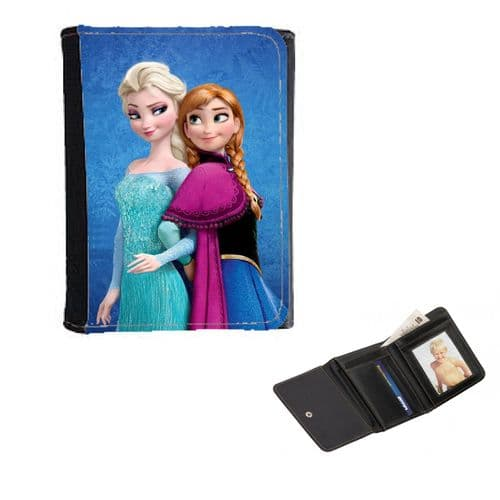 Disney Frozen Anna & Elsa, Ladies, Girls Wallet or Purse 12cm x 9cm