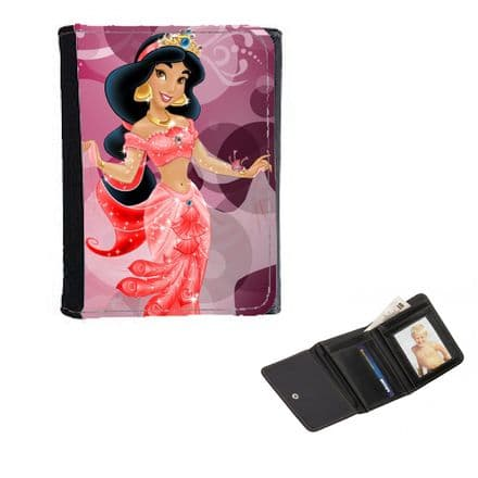 Disney Princess Jasmine, Ladies, Girls Wallet or Purse 12cm x 9cm