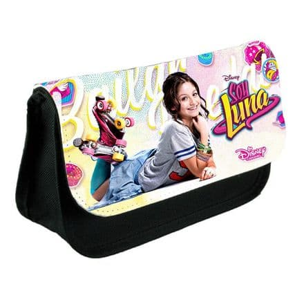 Disney Soy Luna Pencil Case Or Make-Up Bag Black