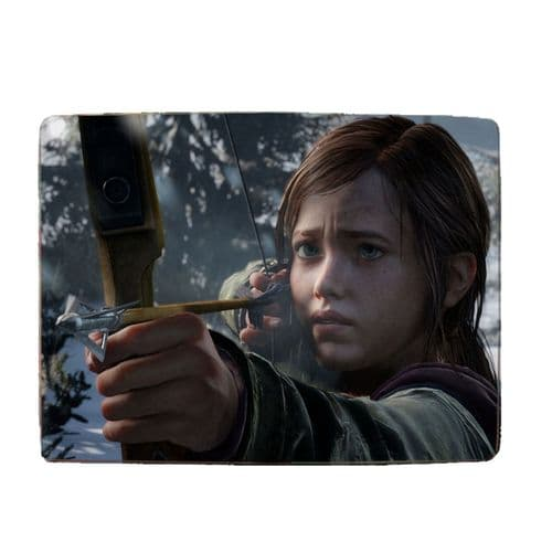 "Ellie, The Last Of Us, Unofficial 8"" x 11"" Toughened Glass Chopping Board, 4mm Thick"