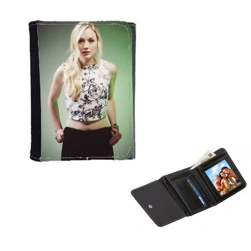 Emily Kinney Theme Mens, Ladies, Girls Wallet or Purse 12cm x 9cm