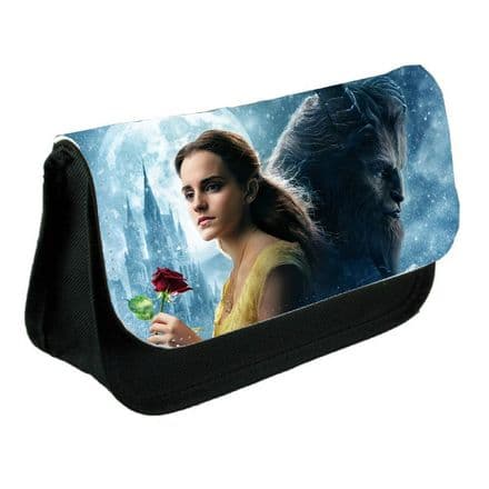 Emma Watson, Beauty and the Beast Black Pencil Case Or Make-Up Bag Gift
