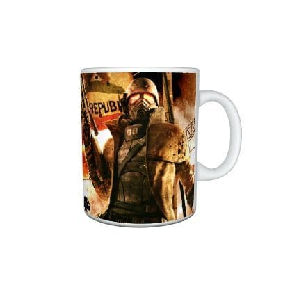 Fallout War Never Changes Mug, Birthday, Christmas, Special Gift, 11oz