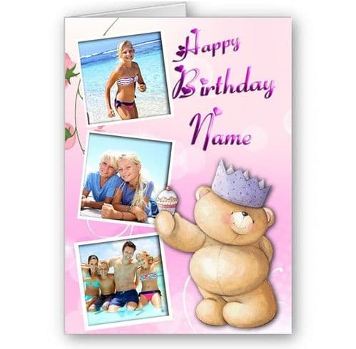 Forever Friends, Family, Love, Special Personalised A5 All Occasion Card