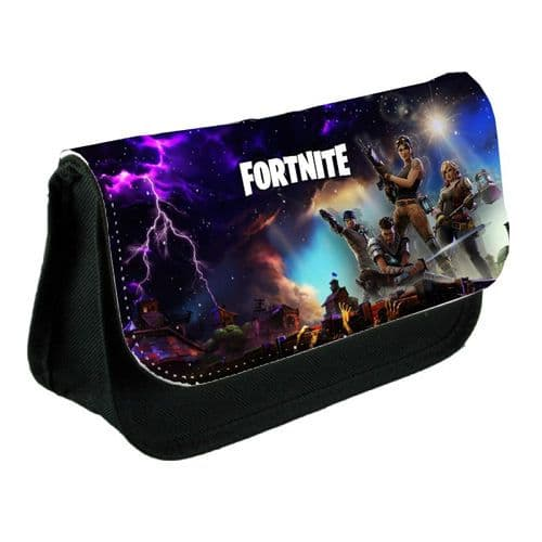 Fortnite Black Pencil Case Or Make-Up Bag Gift