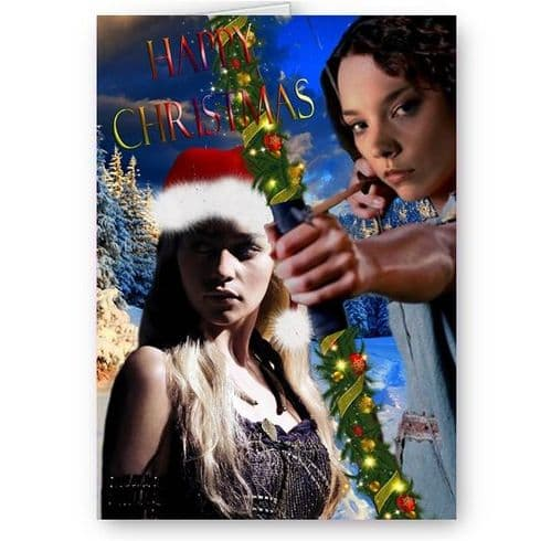 Game Of Thrones A5 Christmas Card With Red Envelope