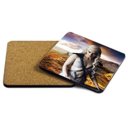 Game Of Thrones, MDF Strong Coaster 9cm X 9cm