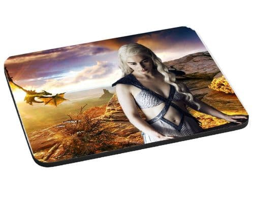 Game Of Thrones Mouse Mat, Pad 220mm x 180mm, 5mm Thick