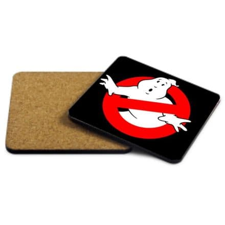 Ghostbusters MDF Strong Coaster 9cm X 9cm