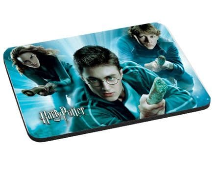 Harry Potter Mouse Mat, Pad 220mm x 180mm, 5mm Thick