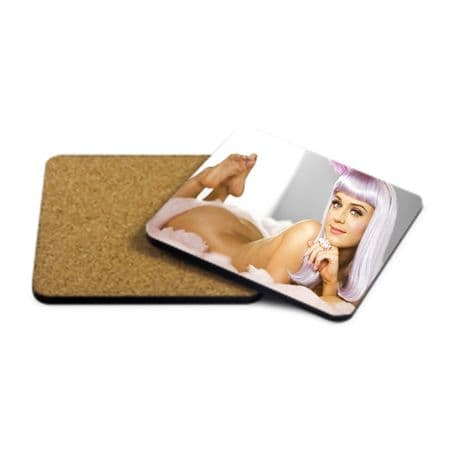 Katy Perry, MDF Strong Coaster 9cm X 9cm