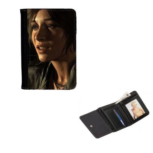 Lara Croft Tomb Raider, Mens, Ladies, Girls Wallet or Purse 12cm x 9cm