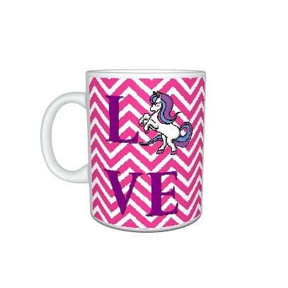 Love Horse Novelty Theme 11oz Large Handle Mug