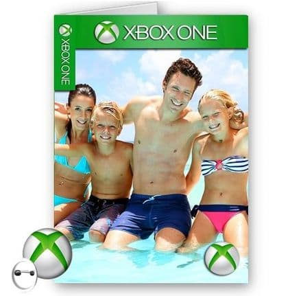 Personalised Any Photo & Any Age Xbox ONE Games Cover A5 Happy Birthday Card