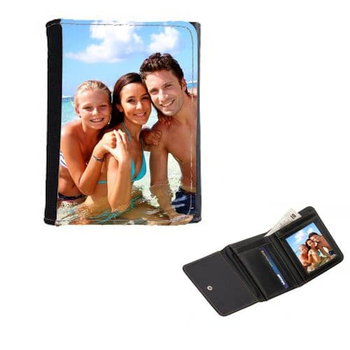 Personalised Photo / Design Wallet / Purse 12cm x 9cm