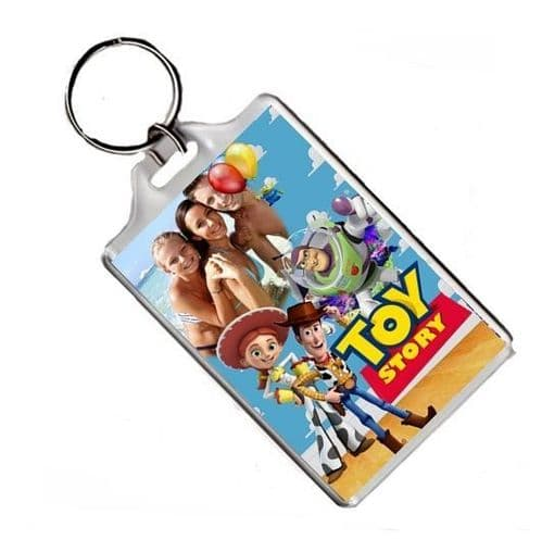 Personalised Photo Disney Toy Story Keyring or Fridge Magnet