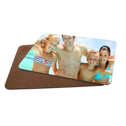 Personalised Photo MDF Hard Backed Placemat 20cm X 28cm
