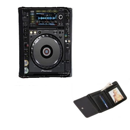 Pioneer CDJ 2000 Nexus, Mens, Ladies, Girls Wallet or Purse 12cm x 9cm