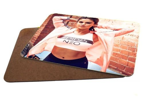 Selena Gomez MDF Strong Placemat Set