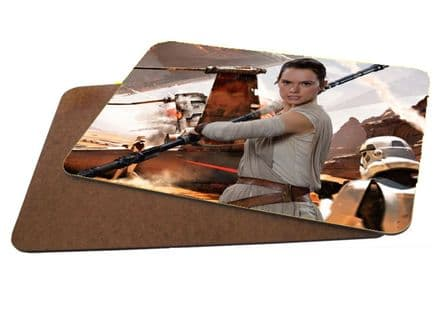 Star Wars Rey MDF Strong Placemat 20cm x 28cm