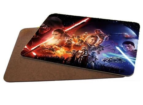 Star Wars The Force Awakens MDF Strong Placemat 20cm x 28cm