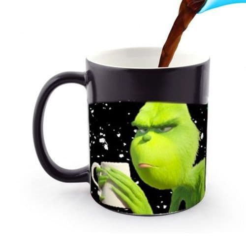 The Grinch Cup Of Fuckoffee 11oz Heat and Reveal Magic Large Handle Mug