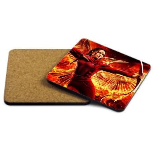 The Hunger Games, Mockingjay, MDF Strong Coaster 9cm X 9cm