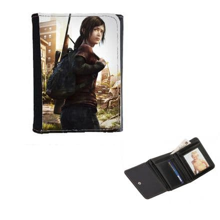The Last Of Us, Ellie, Mens, Ladies, Girls Wallet or Purse 12cm x 9cm