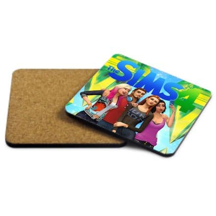 The Sims 4, MDF Strong Coaster 9cm X 9cm