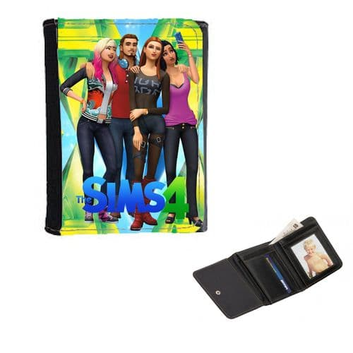 The Sims 4, Mens, Ladies, Girls Wallet or Purse 12cm x 9cm