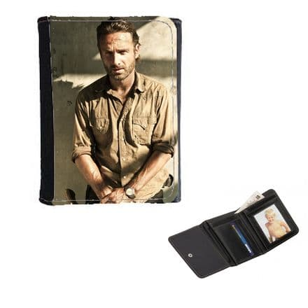The Walking Dead, Rick Mens, Ladies, Girls Wallet or Purse 12cm x 9cm