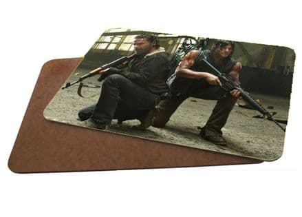 TWD The Walking Dead, Rick & Daryl MDF Strong Placemat 20cm x 28cm