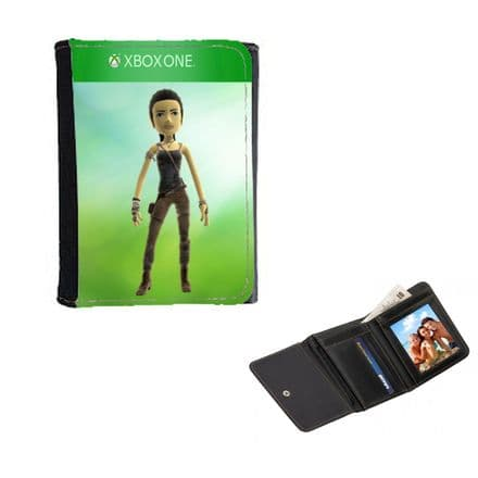 Xbox One Personalised Avatar Gamertag Mens, Ladies, Girls Wallet or Purse 12cm x 9cm