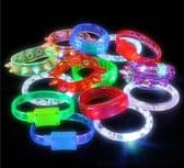 144 Piece Light Up Novelty Bracelet Assortment