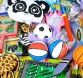 200 Piece Novelty Toy Assortment (6cm - 15cm)
