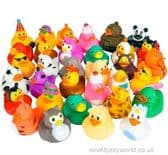 300 Piece Rubber Duck Assortment (5cm)
