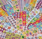 4000 Piece Novelty Sticker Strip Assortment