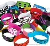 432 Piece Novelty Rubber Bracelet Band Assortment