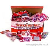 600 Piece Valentine's Day Themed Toy Assortment for Kids