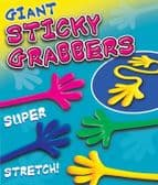 Giant Stretchy Sticky Hand Toy - 50mm x 56mm Vending Capsule