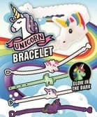 Glow in the Dark Unicorn Bracelet - 50mm x 56mm Vending Capsule